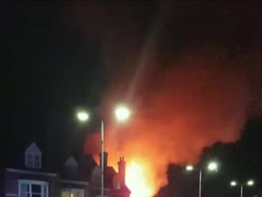 Leicester explosion