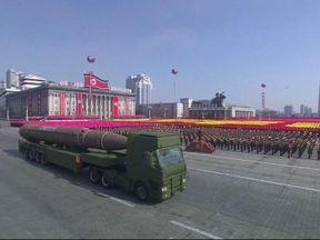 North Korea has held a military parade