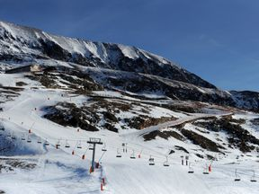 The French ski resort of Alpe d'Huez