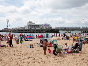 Bournemouth beach has made it to the top 25 in the world according to TripAdvisor