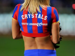 The Crystals, Crystal Palace cheerleaders