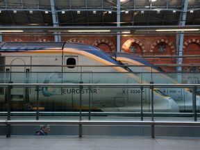 The trains will start from the Eurostar hub at London St Pancras