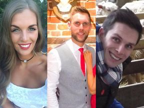 Becky Dobson, Stuart Hill and his brother Jason Hill were killed in the helicopter crash