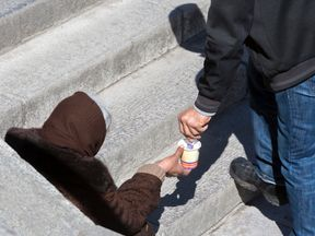 Homeless people in Torquay are being checked with charities to ensure they are genuine
