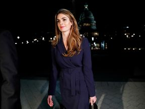 Hope Hicks joined Mr Trump's presidential campaign in 2016