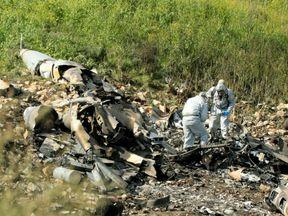 Israeli fighter jet crashes