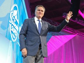 Mitt Romney is running for political office