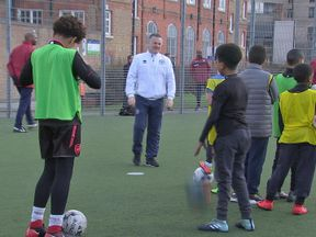 QPR staff have been coaching children affected by the Grenfell Tower disaster
