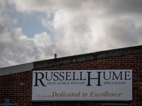 Russell Hume had been at the centre of a meat safety scare