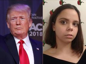 Samantha Fuentes said she had 'never been so unimpressed by a person' after speaking to Donald Trump