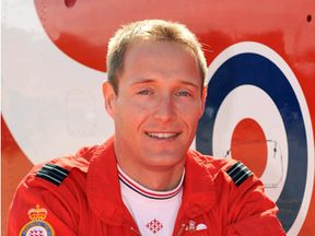 Red Arrows pilot Sean Cunningham