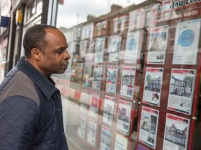 The average household net property wealth in London is now about £350,000