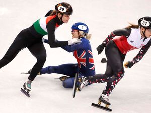 Speed skater Elise Christie out of Winter Olympics after disqualification