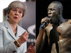 Rapper Stormzy continues battle with Theresa May over Grenfell Tower fire