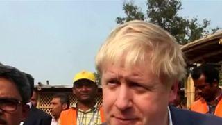Boris Johnson in Bangladesh