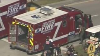 People treated at scene of Florida school shooting