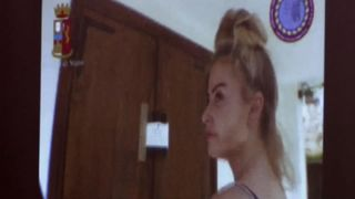 Chloe Ayling outside the home she says she was held captive in