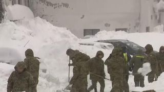 Croatia has been hit by heavy snowfall