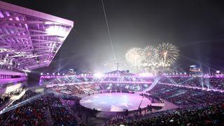Winter Olympics in Pyeongchang