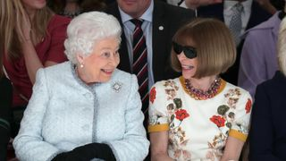 The Queen attends London Fashion Week