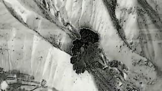 B-52 raid on Taliban in Afghanistan