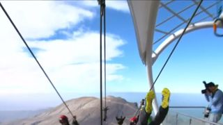 The world's longest zipline is opening in the UAE