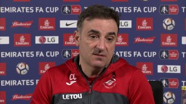 Carvalhal: Swansea FA Cup underdogs