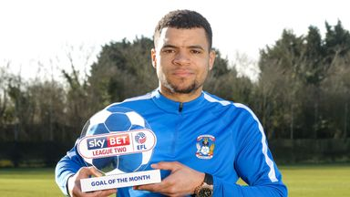 Biamou wins Goal of the Month