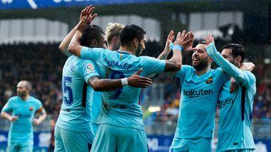 Eibar 0-2 Barcelona