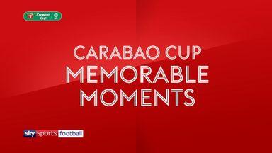 Memorable League Cup final moments
