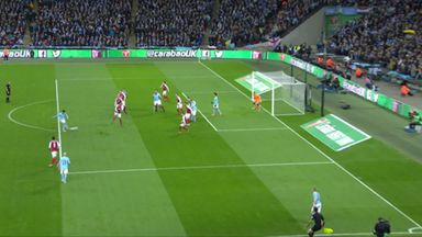 Was Sane offside for Kompany goal?