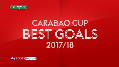 Carabao Cup Best Goals 2017-18