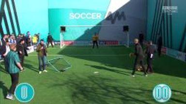 Rochdale Fans   Volley Challenge