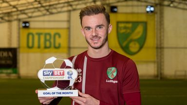 Maddison wins Goal of the Month