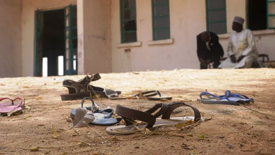 Aftermath of attack on school in Nigeria
