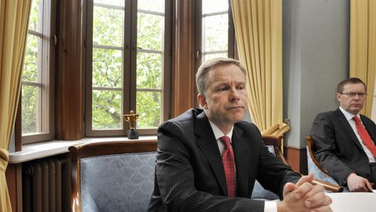 Ilmars Rimsevics has been Latvia's central bank chief since 2001