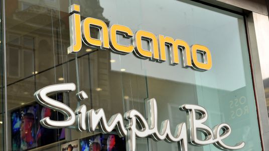 A shop sign for jacamo / SimplyBe in Oxford Street central London. PRESS ASSOCIATION Photo. Picture date: Wednesday January 6, 2016. Photo credit should read: Nick Ansell/PA Wire