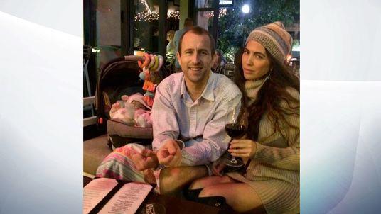 Mr Bennett and Ms Hellmann. Pic: Facebook