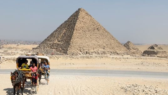 The Great Pyramid is only 0.067 degrees counter-clockwise from perfect cardinal alignment