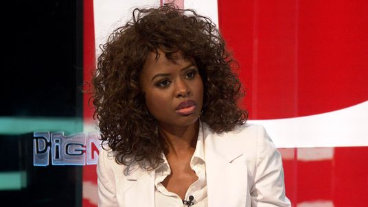 Broadcaster June Sarpong on the panel of The Pledge