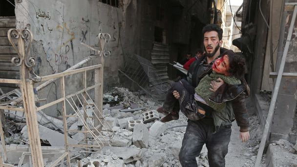 UN calls for end to 'hell on earth' Syrian conflict