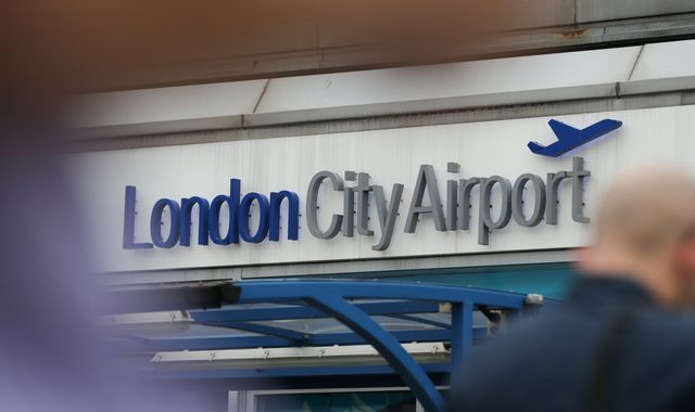 London City airport closed after WW2 bomb found in Thames