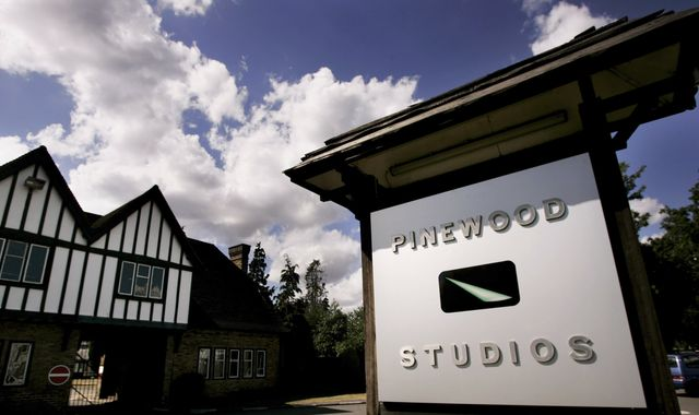 Pinewood Studios: Man arrested after hidden camera found in ladies' toilet at Bond 25 filming site