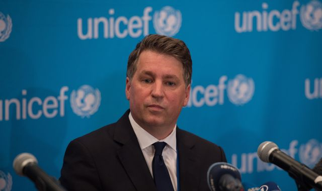 Unicef executive Justin Forsyth quits following claims from ex-colleagues at charity