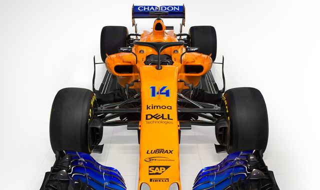 McLaren goes all-orange for 2018 auto