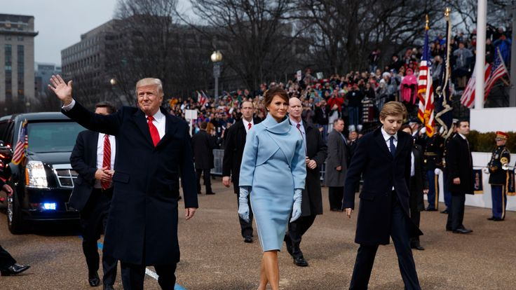 Donald Trump enjoyed his inauguration parade - even with the crowd size controversy