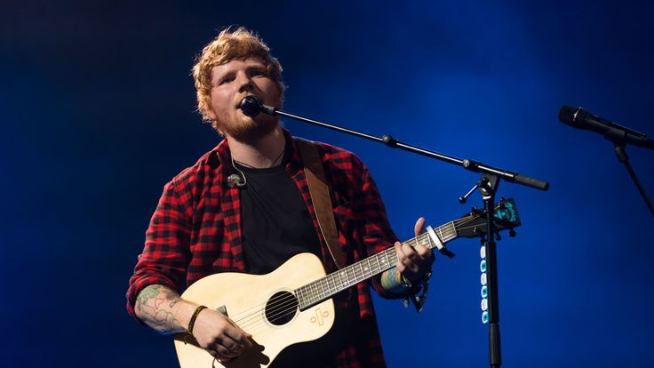 Ed Sheeran headlined the 2017 Glastonbury Festival