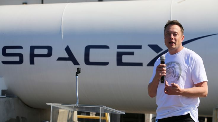 Elon Musk, founder, CEO and lead designer at SpaceX