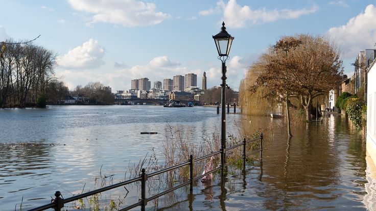 British Isles worst in Europe for flooding