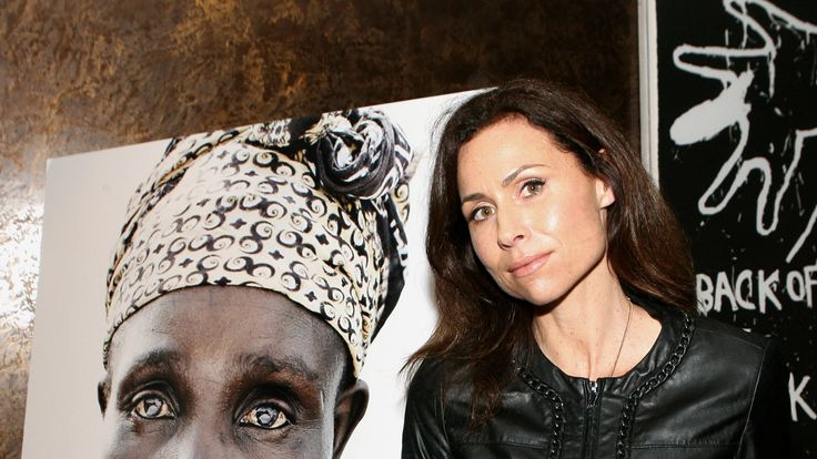 Minnie Driver at a charity event hosted by Oxfam in Los Angeles in 2010